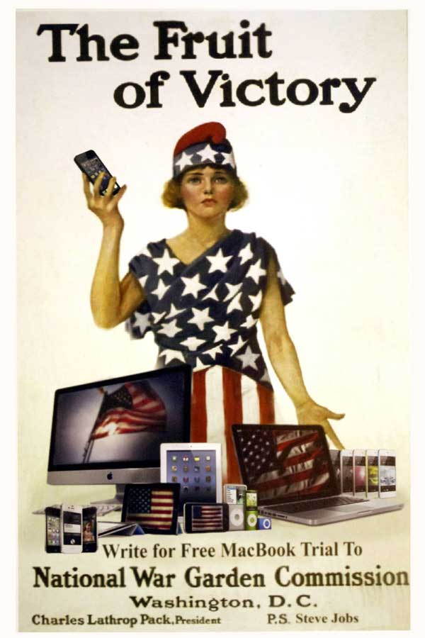 propaganda meme poster