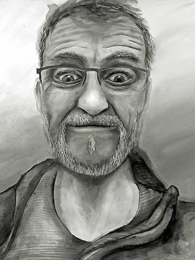 2d Art Lessons Expressive Self Portrait